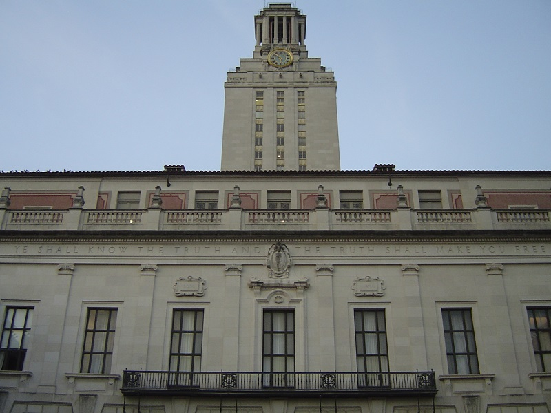 (Wikimedia) The University of Texas at Austin